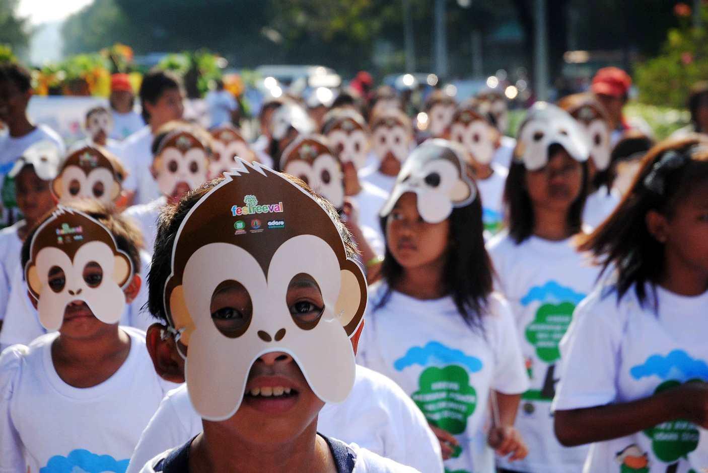 Festreeval : Parade Cinta Pohon