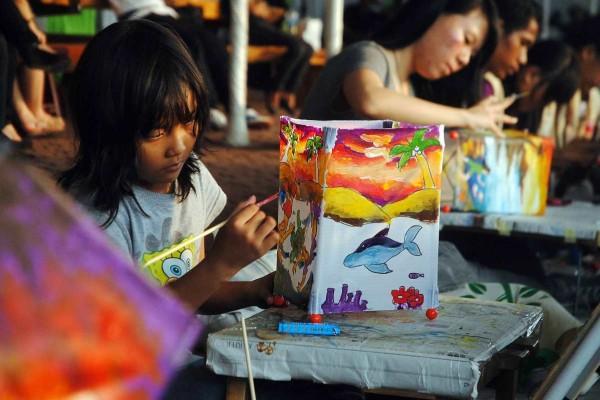 Festival Teluk Jakarta, Pelangi di Teluk Jakarta