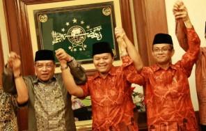 HidayatDidik dan Ketua PBNU (foto : Khairuddin Safri)