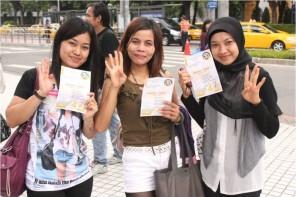Dukungan WNI di Taiwan utk Hidayat Didik