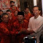 Jokowi dan Didik saat di HDC Buncit