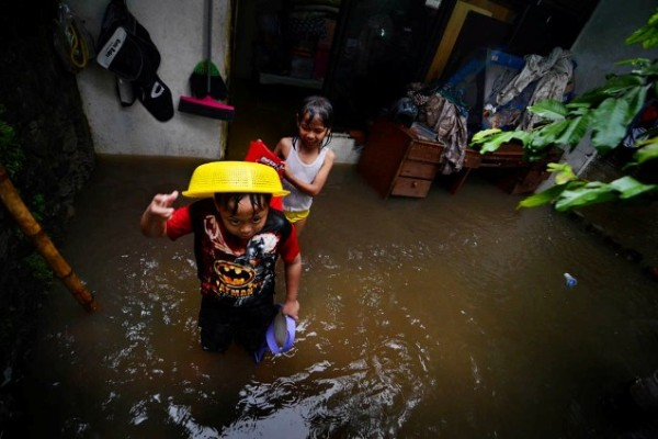 Kampung Makasar Jakarta Timur Kebanjiran