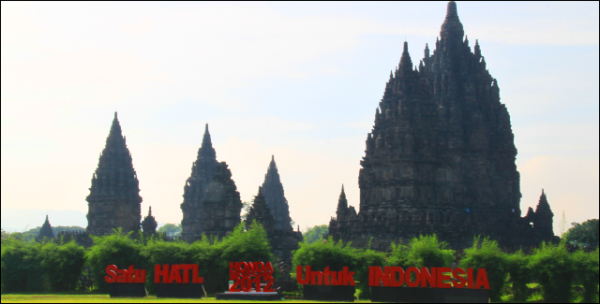 Di Prambanan, 15.000 Bikers Hadiri Honda Bikers Day 2012