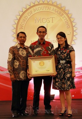 AHM Sabet Penghargaan Word of Mouth Marketing 2013
