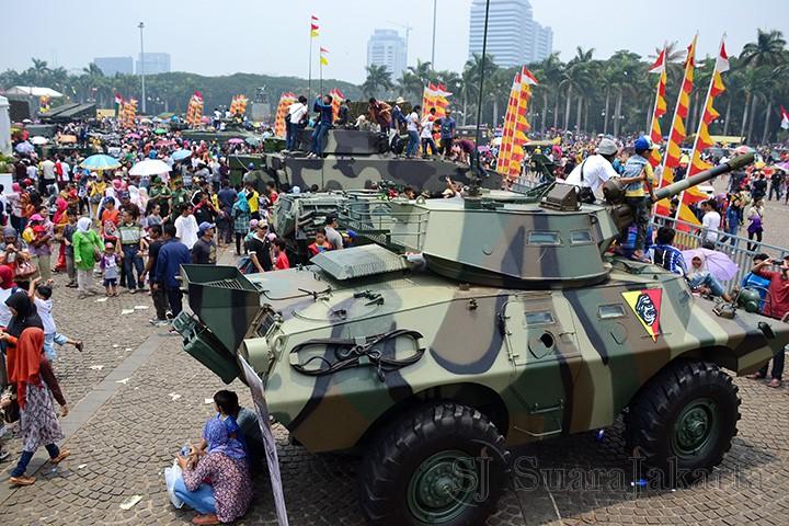 HUT ke 70, DPR Minta TNI Kembali ke Jati Diri sebagai Alat Pertahanan Negara