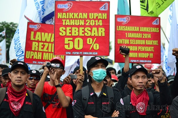 Kebijakan Upah Minimum Harus Berpihak pada Buruh