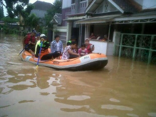 Aksi Sigap ACT Hadapi Banjir