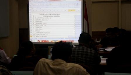 Sidang Pleno PPK Tambora, Jakarta Barat