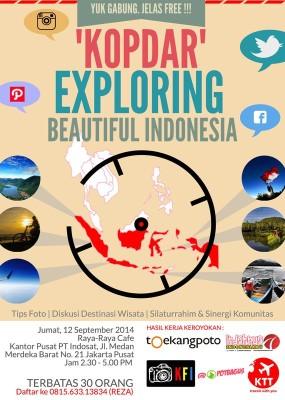 Ngobrolin Indahnya Indonesia dalam Acara Kopdar Komunitas Foto
