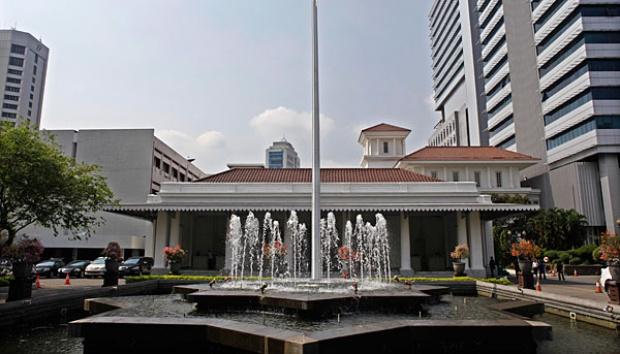 Diduga Bom, Batu Bata Gegerkan Gedung Balaikota