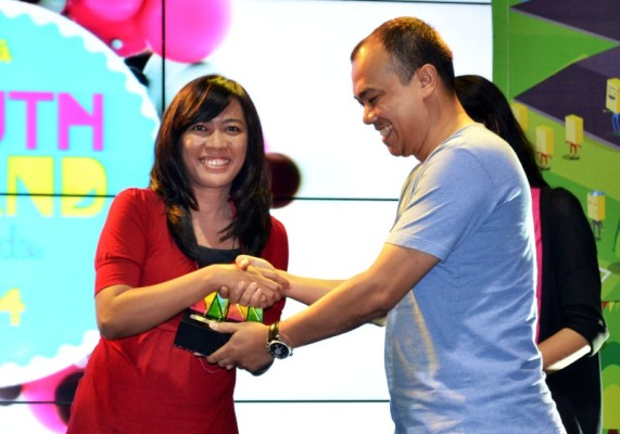 Motor Honda Terfavorit diajang Youth Brand Award 2014