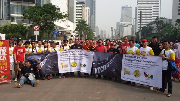 RSA Gelar Hari Perenungan Korban Kecelakaan Dunia di 6 Kota