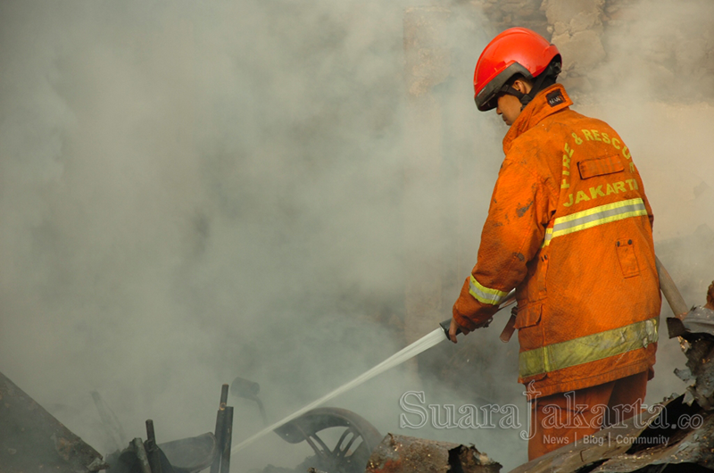 Kebakaran Landa Pemukiman di Tanah Sereal Tambora