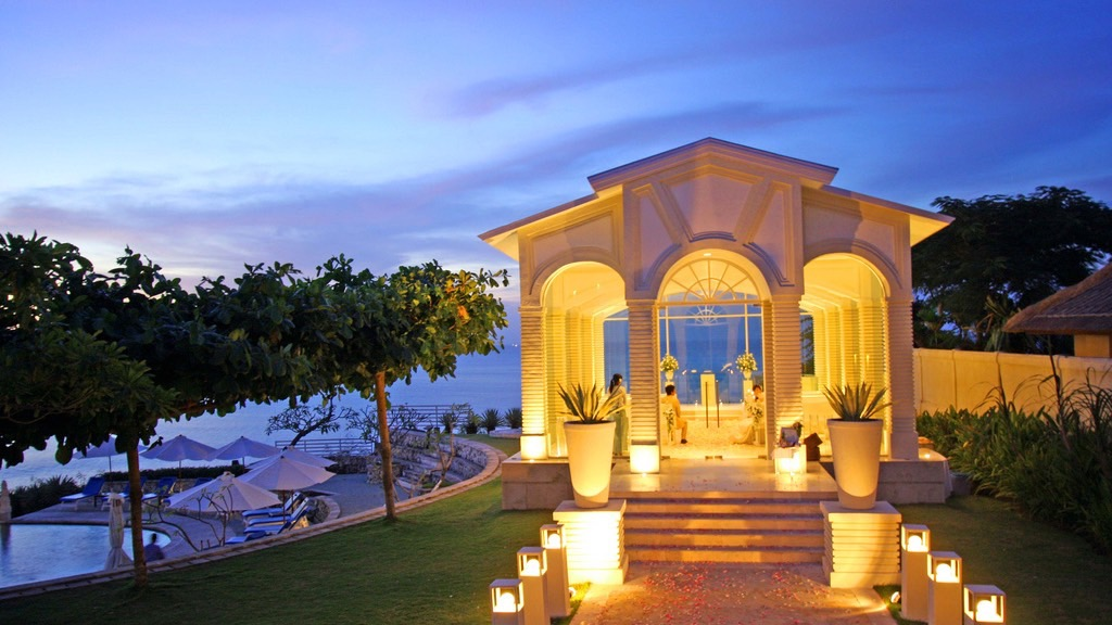 Wisata Romantis, Wedding Chapel – Blue Point, Bali