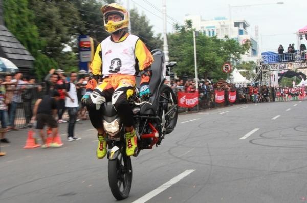 Honda CB150R StreetFire City Battle Hadirkan Stunt Rider Terbaik di Indonesia