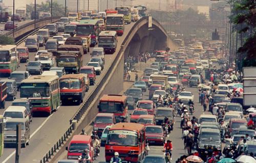 Wih, Jakarta Jadi Kota dengan Lalu Lintas Terburuk di Dunia