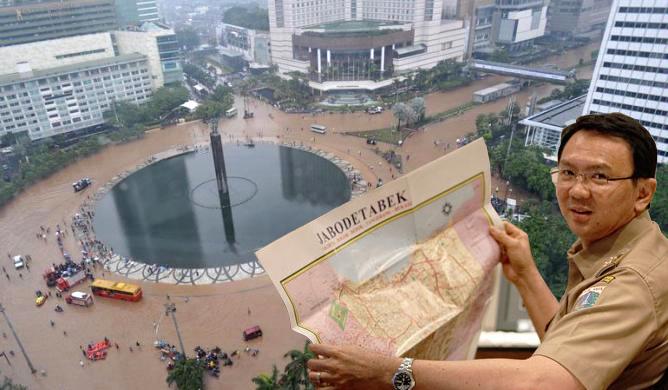 BPBD DKI: 39 RW Di Jakarta Terendam Banjir