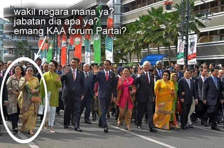 Alumni Universitas Gadjah Mada KAGAMA, Pertanyakan Kehadiran Megawati dalam Napak Tilas KAA