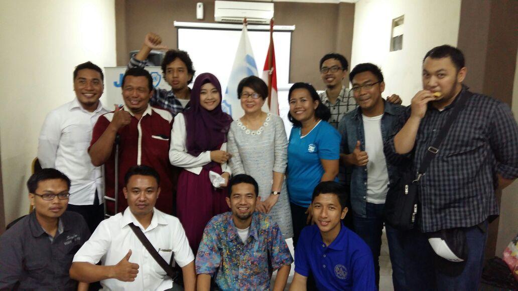 Senator Teresa Apresiasi Kerja Junior Chamber International Indonesia