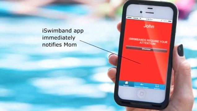 iSwimband, Aplikasi Untuk Mengawasi Anak di Kolam Renang