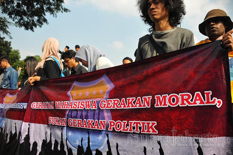 PMII Serukan Mahasiswa Kritik Kebijakan Jokowi, Bukan Pribadinya