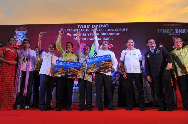 Hadiri Launching Smart Card, Menkominfo Puji Makassar