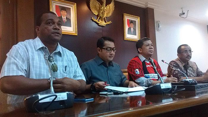 Persipura Curhat ke DPR, Fahri Minta Menpora Tunjuk Nama Mafia PSSI
