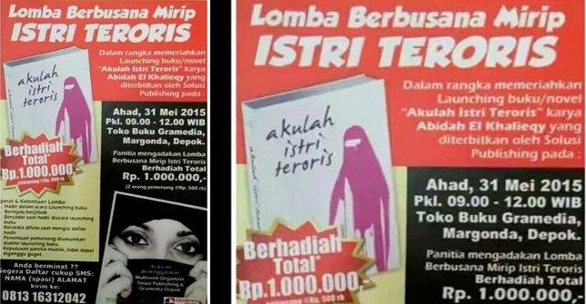 Fahira Minta Polisi Periksa Penyelenggara Lomba Busana Mirip Istri Teroris