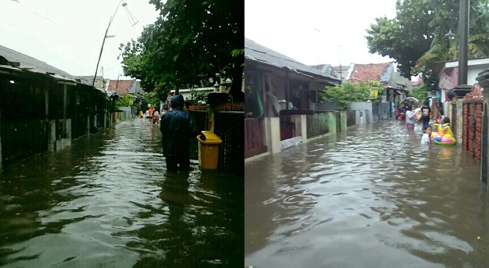 Kalibata Kebanjiran, Warga Tagih Janji Kampanye