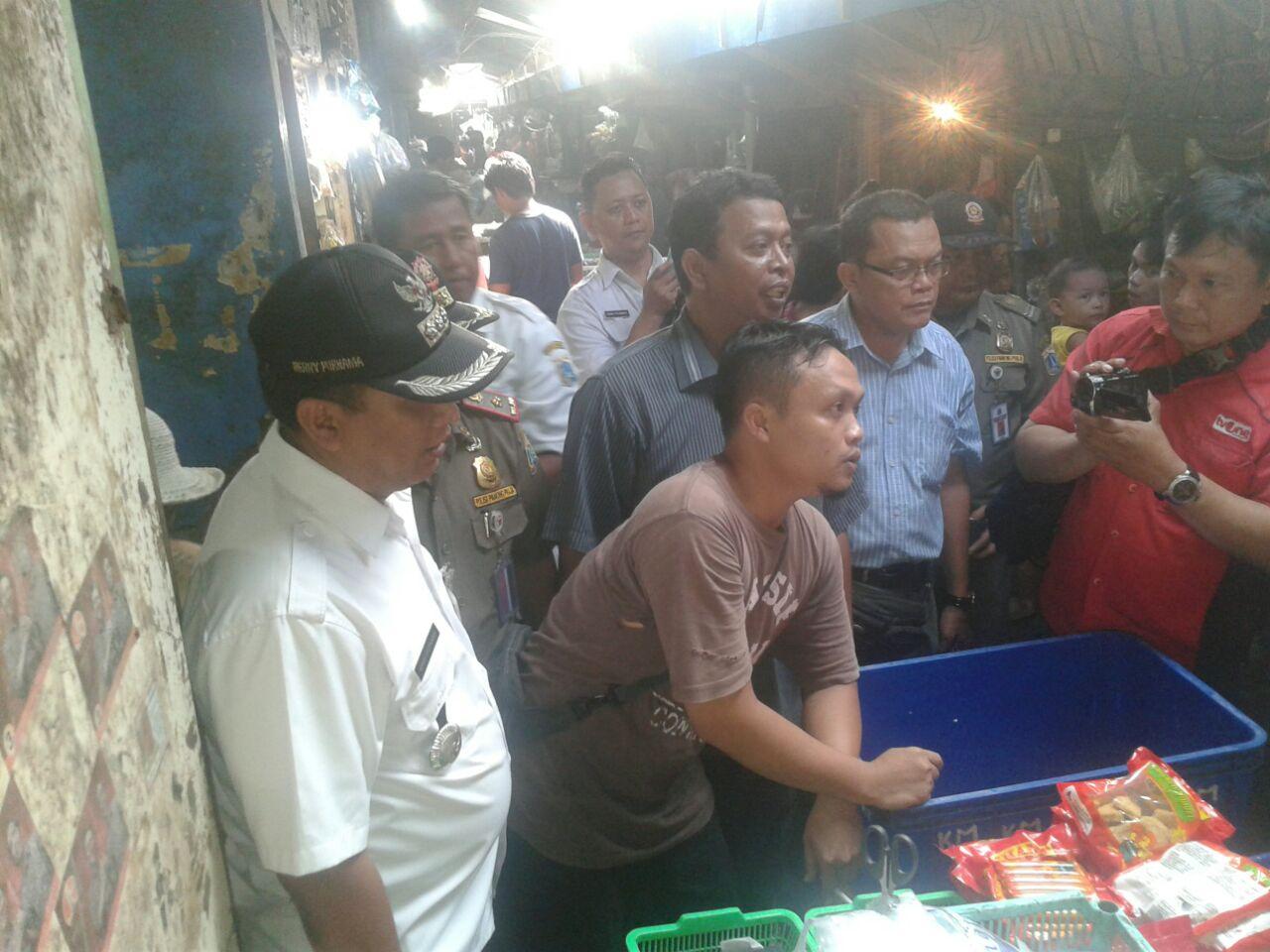 Pemkot Jakpus Temukan Makanan Mengandung Formalin di Lima Pasar Tradisional