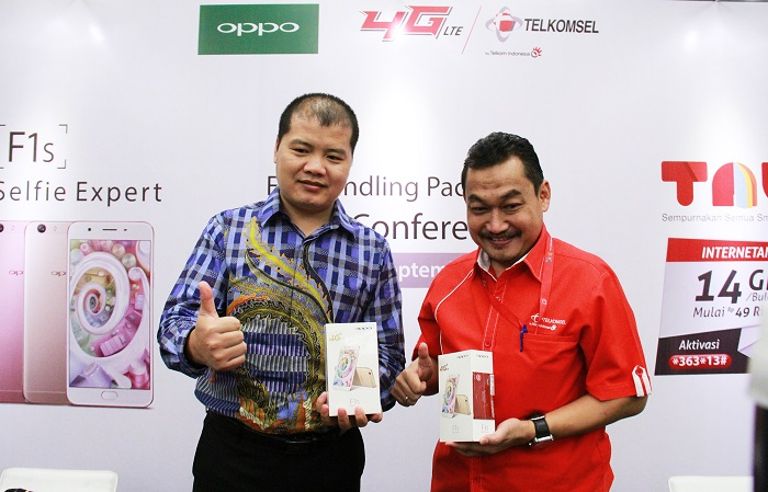 Bundling OPPO F1s-Telkomsel Sediakan Kuota Data 14 GB