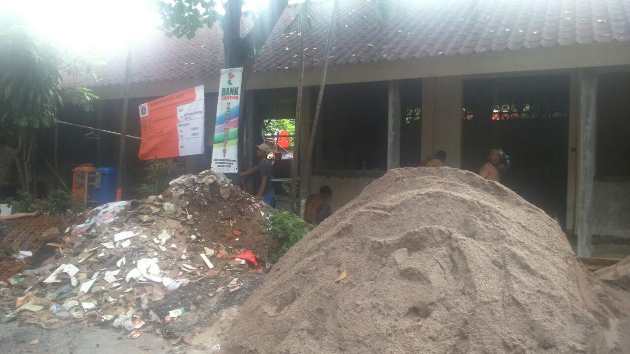 Renovasi Kantor Seksi Kebersihan Jakarta Pusat
