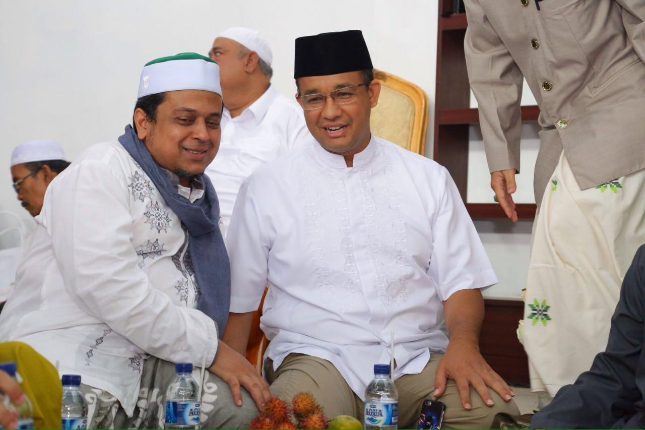 Forum Ulama dan Habib DKI Mantap Dukung Anies-Sandi