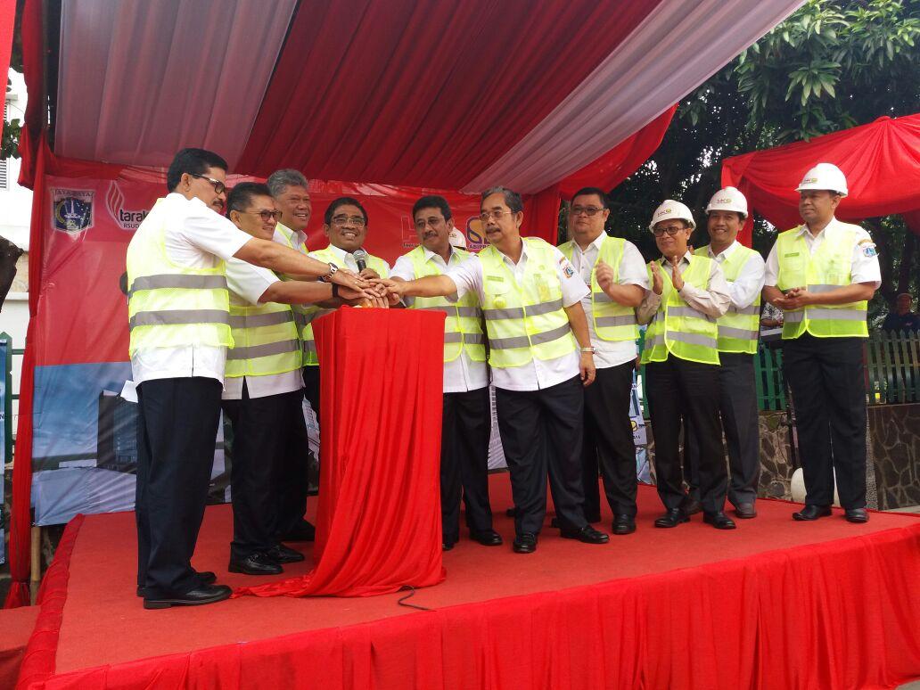 Proyek Pembanguna Sky Hospital RSUD Tarakan Resmi Dimulai