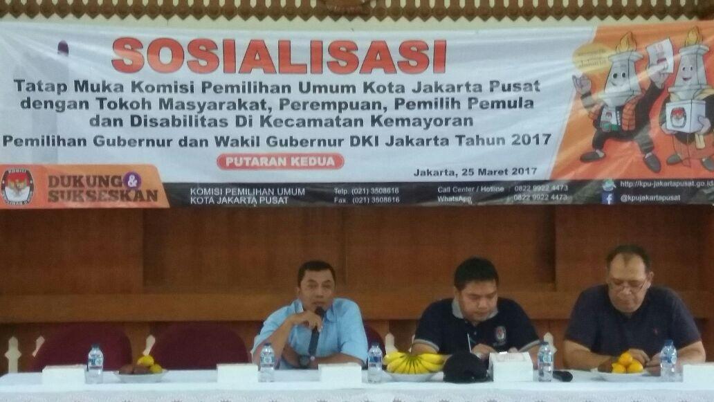 KPU Jakpus Gelar Sosialisasi Tatap Muka Dengan Warga