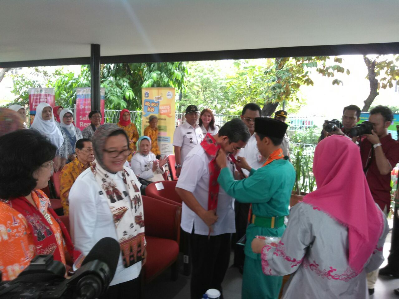 Suku Dinas PP2APP Gelar Pencanangan Kampung KB ke 40