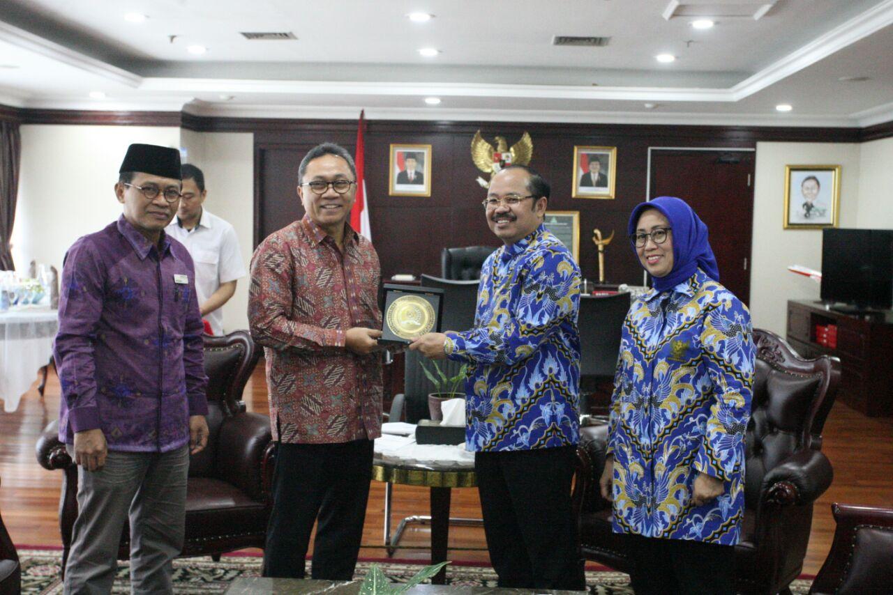 Bertemu Ombudsman, MPR Dukung Penuh Reformasi Pelayanan Publik