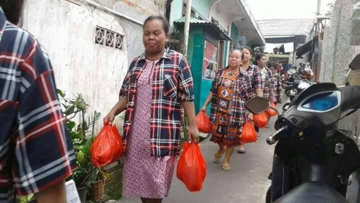 """Bagi Sembako"" adalah Ucapan ""Tiko"" untuk Warga Jakarta"
