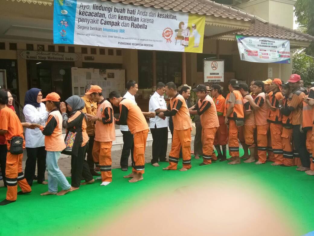 200 Pegawai Kelurahan Menteng 'Munggahan Paket Hemat'