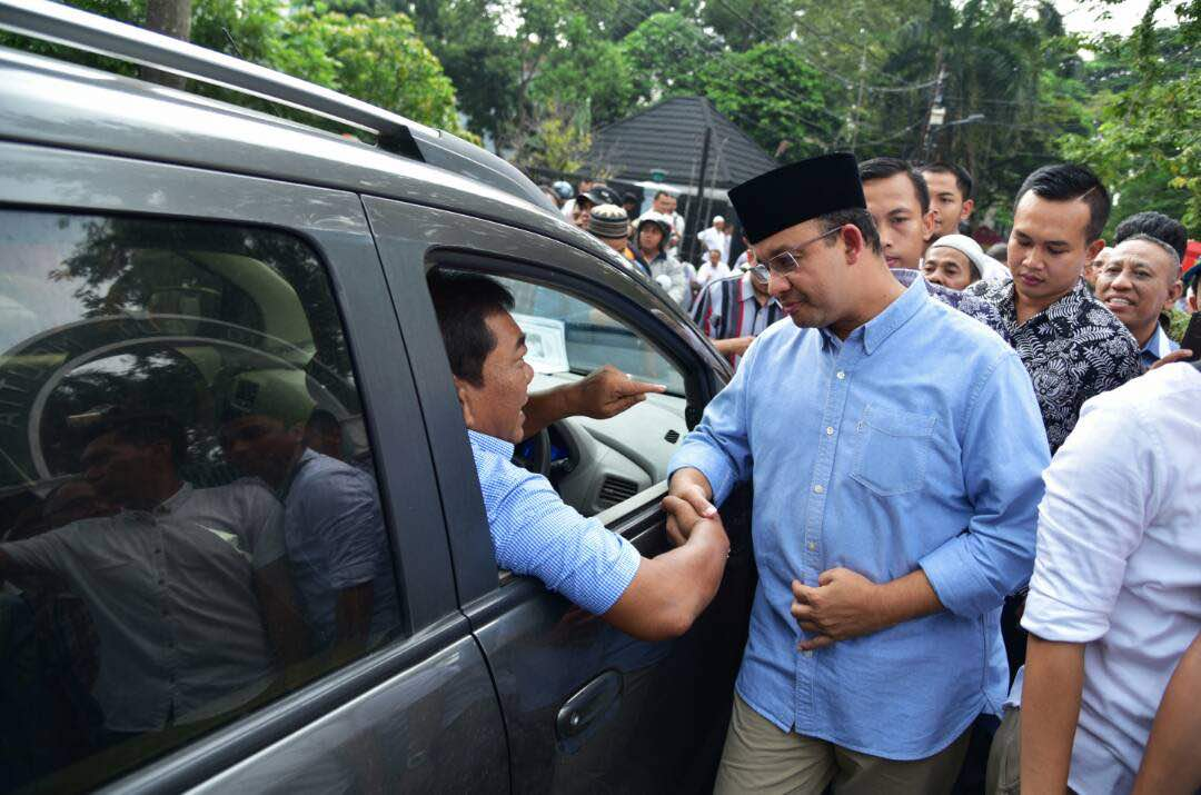Konsep Bangun Jakarta, Anies: Gotong Royong
