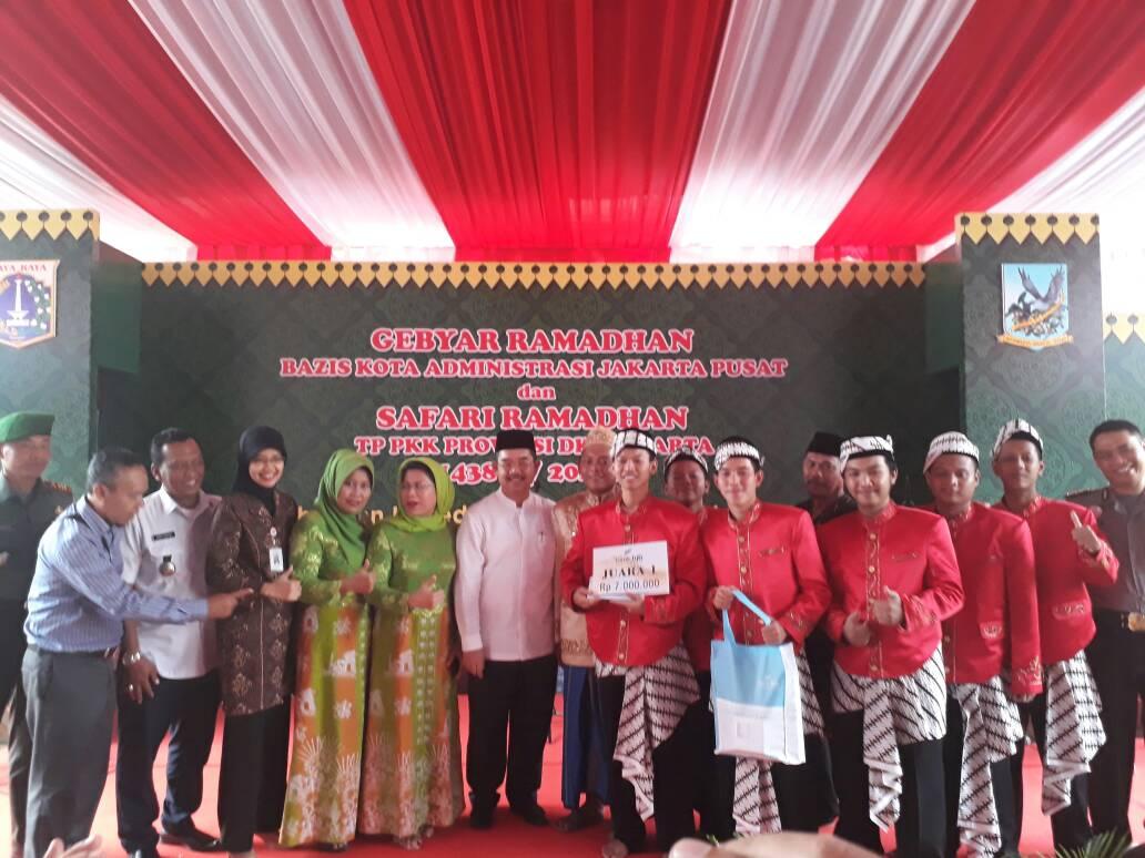 Kecamatan Kemayoran Juara I Festival Beduk dan Gema Takbir