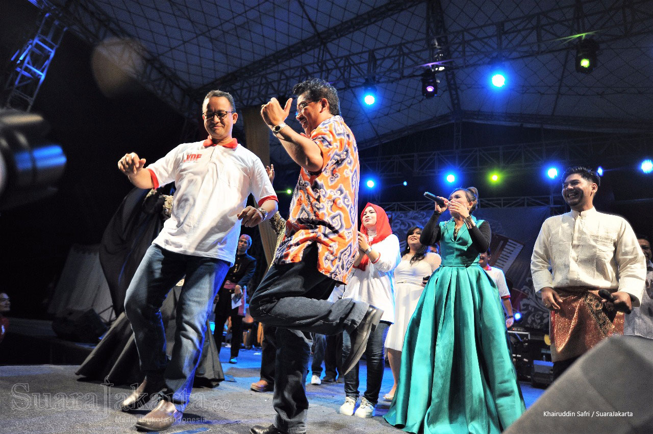 Milenial Berdendang di Jakarta Melayu Festival