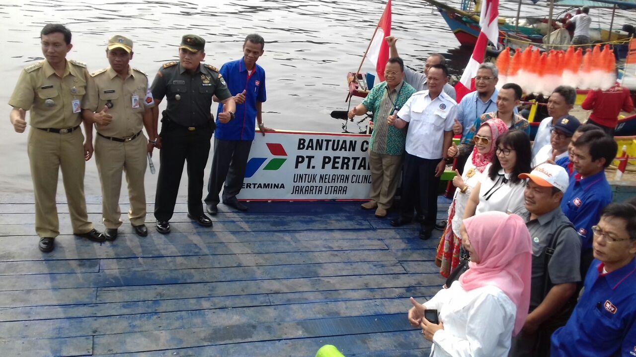 Dermaga Apung Cakung Drain Cilincing Diresmikan, Nelayan Bisa Menjual Hasil Tangkapan Ke Cilincing