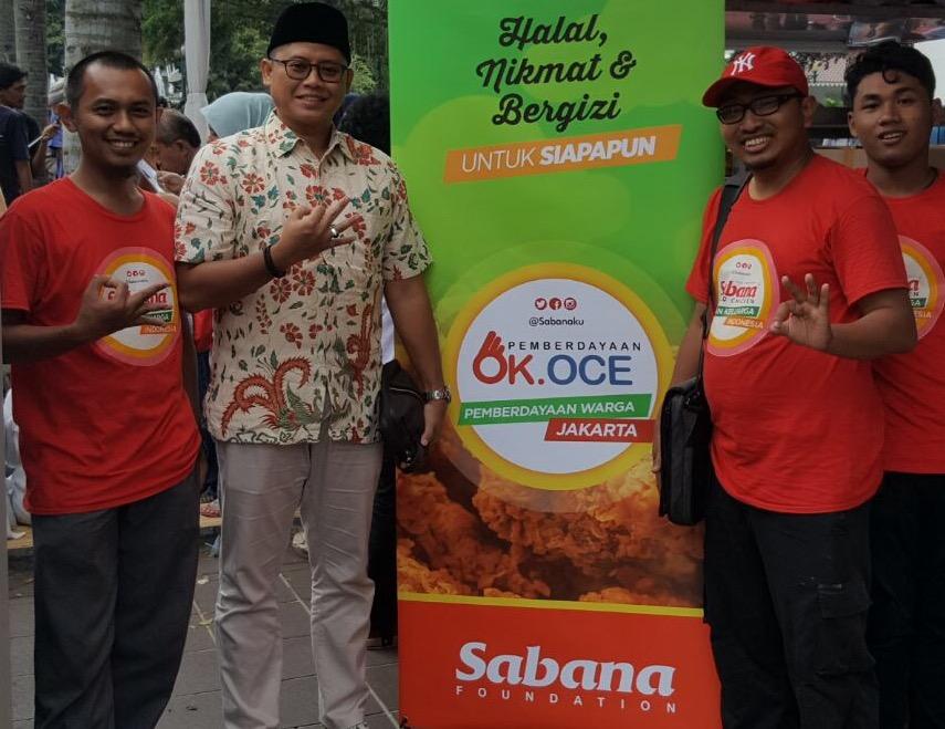 Sambut Pemimpin Baru Jakarta, Sabana Fried Chicken Donasikan 1000 Porsi Paket Ayam dan Nasi
