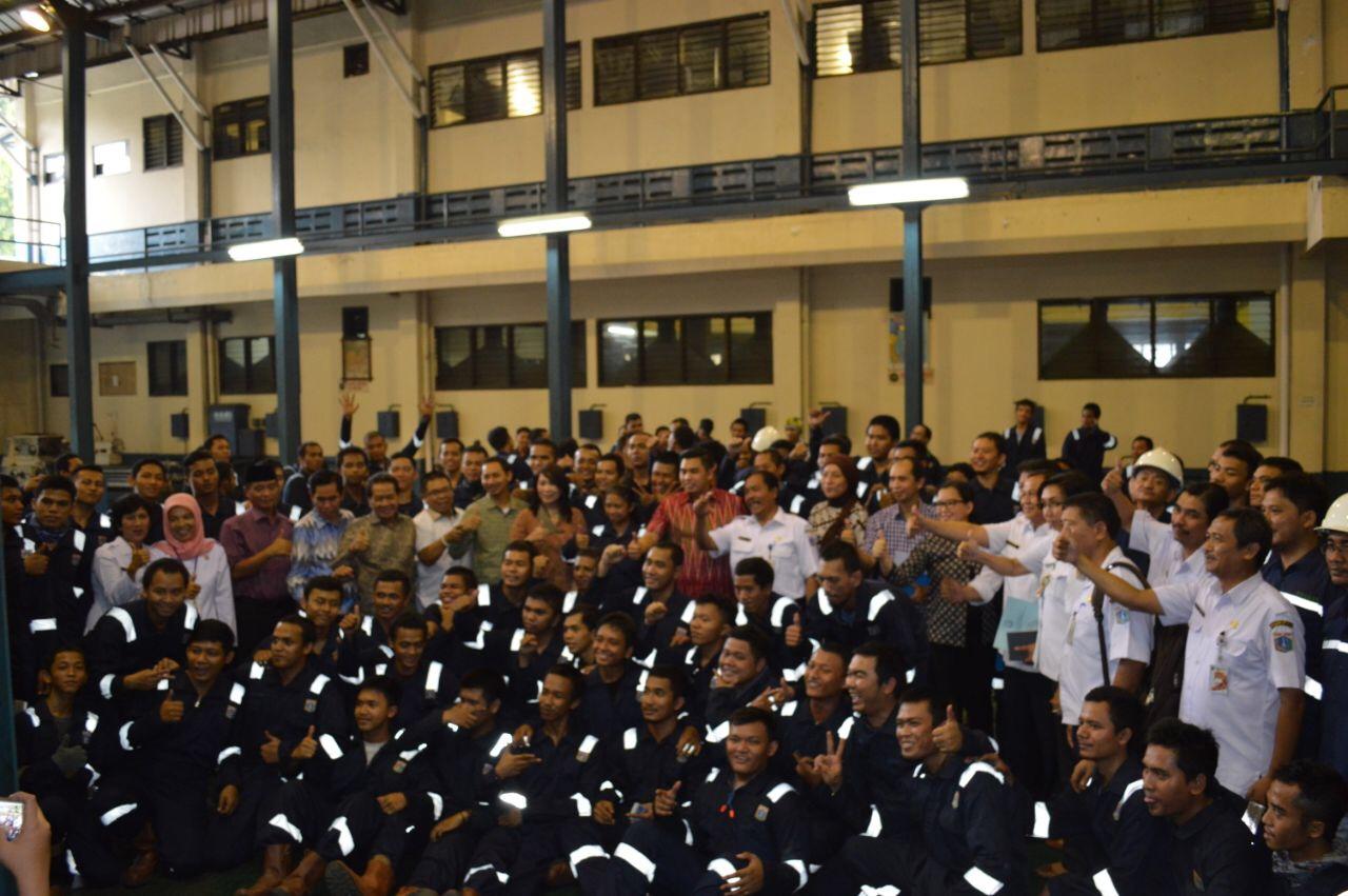 Komisi B DPRD DKI Sosialisasikan OKE OCE PPKKP Las Condet