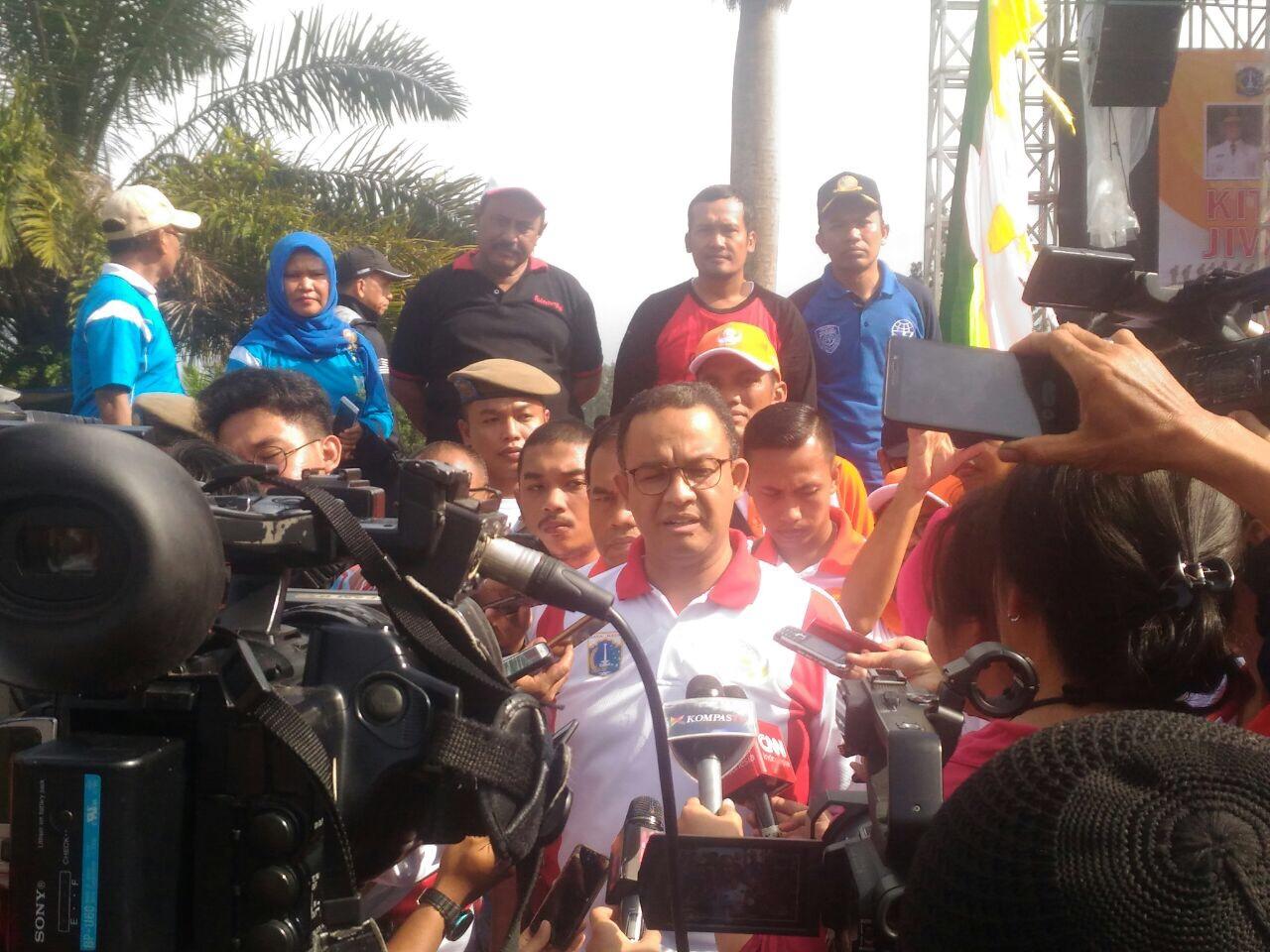 Pesan Gubernur Anies untuk Korpri DKI: Kita Bisa Ubah Ibukota Lebih Baik