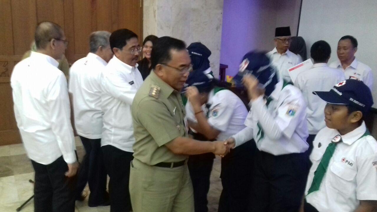 Walikota Kukuhkan Panitia Bulan Dana PMI Jakarta Utara