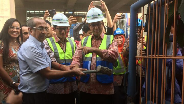 Serahkan Lahannya Secara Ikhlas untuk MRT, Walikota Jaksel Apresiasi Bapak Mahesh