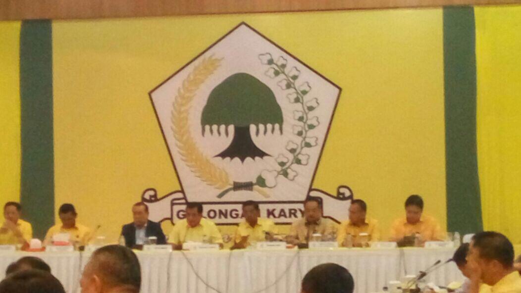 Rapat Pleno, Golkar Putuskan Idrus Marham Sebagai Plt
