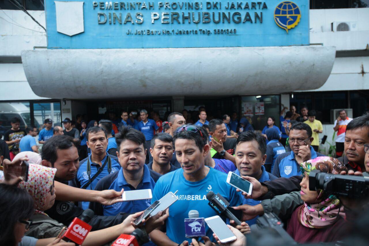 Apa Arahan Sandiaga ke Dishub DKI Soal TOD Kampung Rambutan?